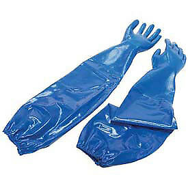 North 174 Nitri knit 174 Supported Nitrile Gloves Blue Xl 1 Pair Lot Of