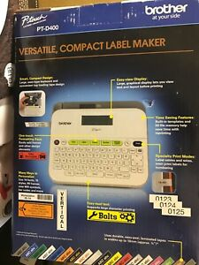 Brother P touch Pt d400 Label Maker create Fast And Effective Labels New Other