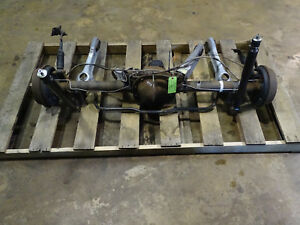 87 88 89 90 91 92 93 Mustang 8 8 Rearend Axle Assembly 2 73 Gear Used Tested 601