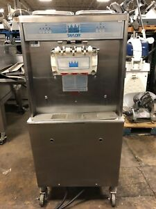 Taylor 754 27 Single Phase Air Cooled Twin Twist Soft Serve Ice Cream Machin