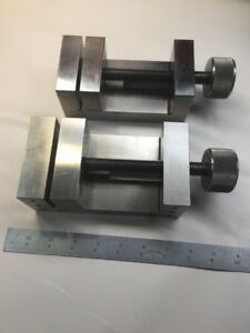 Quality Machinist Milling Grinding Precision Vise Pair Tn Toolmaker Made S31