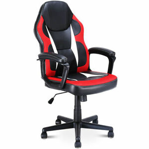 Gaming Chair High Back Office Chair Racing Chair Swivel Desk Task Computer Home