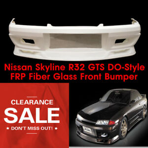 Frp Front Bumper For Nissan Skyline R32 Gts Do style Wide Body Parts