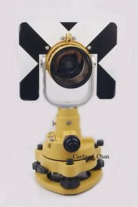 Single Prism Tribrach Adapter Set System For Topcon Total Station