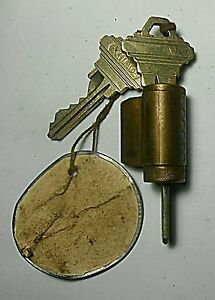 Schlage Lock Key Used Functional Vending Soda Candy Machine House Collectibl