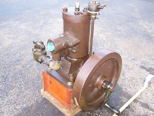 Old Unknown 4hp Inboard Marine Engine Lockwood Ash Detroit Racine Boat Motor Wow