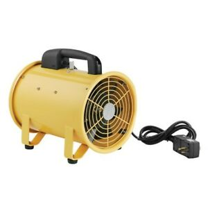 Global Portable Ventilation 8 Exhaust Fan 16 Flexible Ducting Industrial