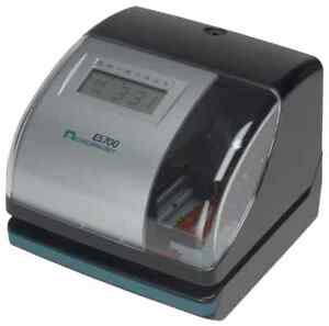 New Acroprint Es700 Time Date Employee Time Recorder Clock