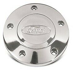 5 Bolt Ford Steering Wheel Button Polished Compatible With Grant Momo Nardi