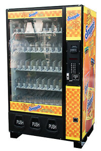 Dixie Narco Bev Max 5591 Drink Vending Machine W Snapple Graphic Free Shipping