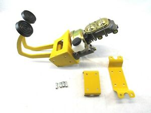 Power Hydraulic Clutch Pedal Brake Booster Master Cylinder Kit Yellow B11002