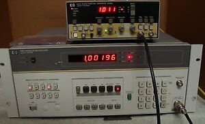 Hp Agilent 8901a 150 Khz To 1300 Mhz Modulation Analyzer W opt 004 Calibrated