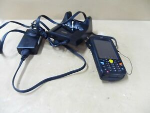 Symbol Motorola Wireless Laser Barcode Scanner Mc55a0 please Read