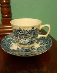 Shakespeares Country Royal Essex Ironstone Cup And Saucer
