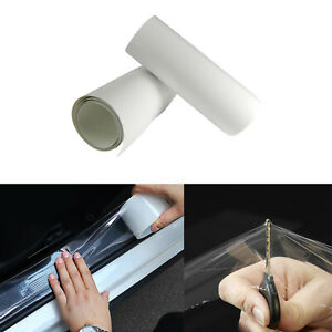 6 X 60 Clear Car Door Sill Edge Paint Protection Anti Scratch Film Vinyl Sheet