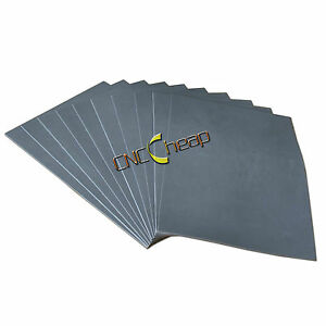 5pcs Gray Laser Rubber Sheet A4 2 3mm For Rubber Stamp Printing Engraving