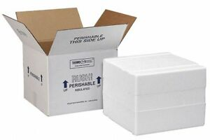 Polar Tech Insulated Shipping Container White Xm3c
