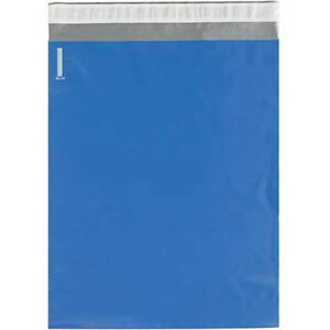 2 5 Mil Colored Poly Mailers 12 x15 1 2 Blue 100 Pack Lot Of 1