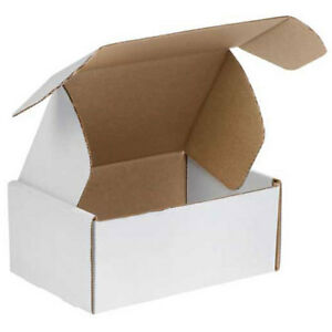 14 x10 x6 White Deluxe Literature Mailer 50 Pack Lot Of 50