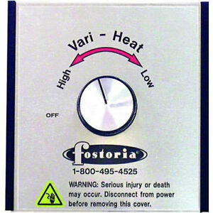 Tpi Variable Heat Control For Quartz Electric Infrared Heaters Lot Of 1