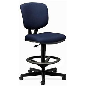 Volt Armless Task Chair Navy Lot Of 1