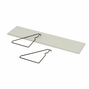 Accessory Shelf For Computer Workstation 48 w Gray Lot Of 1