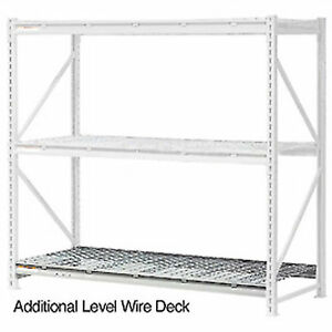 Additional Level With Wire Deck 60 w X 36 d Lot Of 1