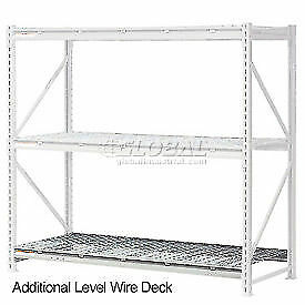 Additional Level With Wire Deck 72 w X 48 d Lot Of 1