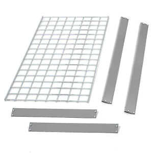 Bulk Rack Additional Level With Wire Deck 48 w X 18 d Gray Lot Of 1