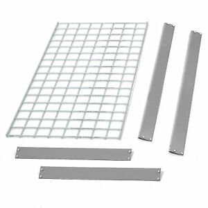 Bulk Rack Additional Level With Wire Deck 96 w X 36 d Gray Lot Of 1