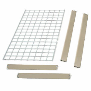 Bulk Rack Additional Level With Wire Deck 96 w X 48 d Tan Lot Of 1