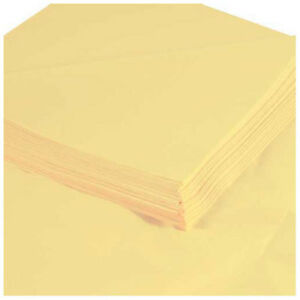 20 x30 Yellow Tissue Paper 480 Pack Lot Of 1