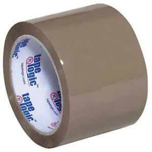 291 Industrial Tape 3 x55 Yds 2 6 Mil Tan 6 pack Lot Of 1