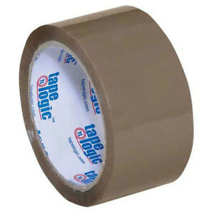 400 Industrial Tape 2 x55 Yds 2 Mil Tan 6 pack Lot Of 1