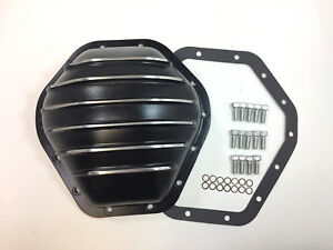 Gm 10 5 Ring Gear Rear Alumium Differential Cover Black Painted 14 Bolt