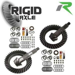 Dana 60 Gm 10 5 99 up Revolution 5 38 Reverse Thick Gear Package W Master Kits