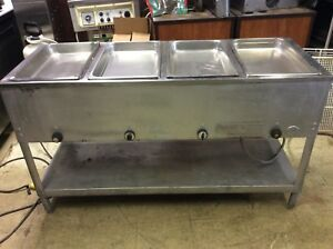 Duke 4 Well Electric Steam Table Perfect Working Condition