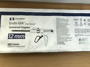 Covidien Endo Gia Universal Stapler 12 Mm Ref 030449 Exp 2021 Out Of Box