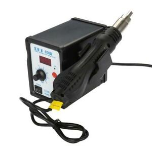 2 in 1 Smd Hot Air Rework Station Soldering Iron With 3 Nozzles Led New Sg