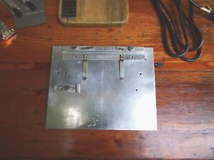 Kingsley Hot Foil Stamping Machine Metal Work Table For M 50