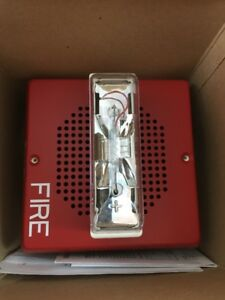 Siemens Wall Fire Alarm Speaker Strobe 24vdc Set mc r 115323 new