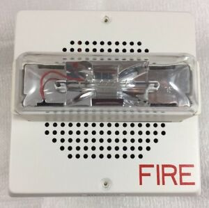 Siemens Wall Fire Alarm Strobe Speaker 24vdc Set mc w 115341 new