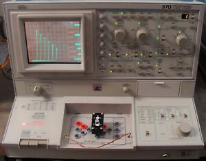 Tektronix Sony 370 Programmable Curve Tracer With Manuals Nist Calibrated