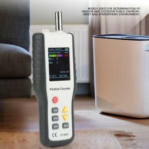 Ht 9600 Pm2 5 Pm10 Detector Air Quality Particle Dust Detector Counter
