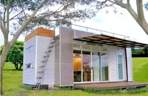 24 Ft Pre fab Container Modular Home 192 Sqft W Roofdeck Brand New