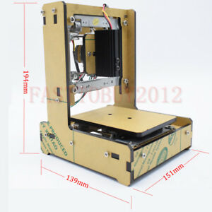 Diy Mini Laser Carving Engraving Machine 200mw Wood Paper Leather 38 38mm Area