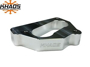 Khaos Motorsports Open Bore Throttle Body Spacer 87 95 Chevy Gmc 5 7l 5 0l 4 3l