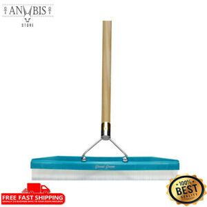 Groom Carpet Rake 18 inch Head 54 inch Handle 18 inch Head Lifts Pet Hair