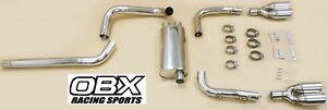 S S Obx Catback Exhaust For 1998 To 2002 Gm Camaro Trans Am Firebird 5 7l