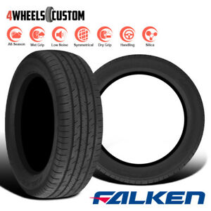 2 X New Falken Sincera Sn250 195 65r15 91t All Season Performance Touring Tires